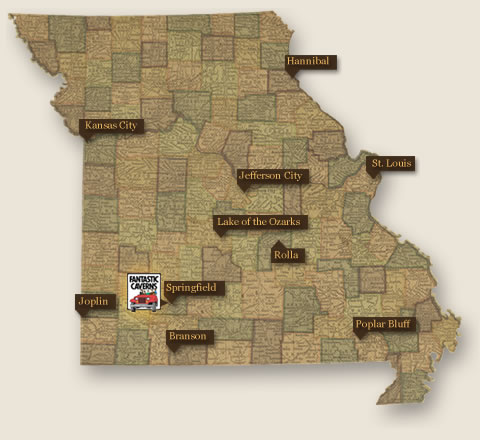 Whether Traveling The Highway Or Vacationing At One Of Our Many - Show me a map of missouri